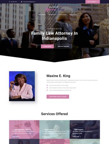 Maxine King Law New Site