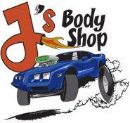 logo j's body shop